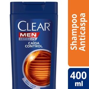 Shampoo Anticaspa Clear Caida Control 400 ml