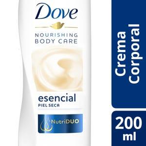 Crema Corporal Dove Nutrición Esencial 200 ml