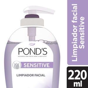Jabón Limpiador Facial Pond's Sensitive 220 ml