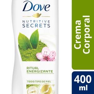 Crema Corporal Dove Matcha Ritual Energizante 400 ml