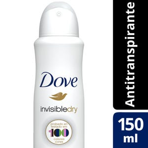 Desodorante Antitranspirante Dove en Aerosol 150 ml