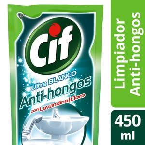 Limpiador Cif Ultra Blanco con lavandina 450 ml