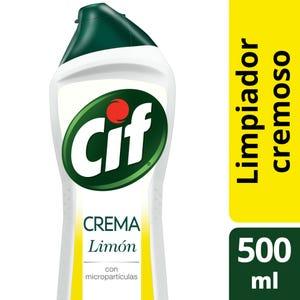 Limpiador Cif Cremoso Limón con Micropartículas 500 ml