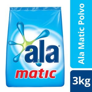 Jabón en Polvo Ala Matic 3 kg