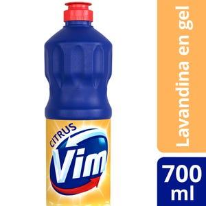 Lavandina en Gel Vim Citrus 700 ml