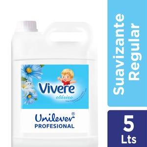 Suavizante Clasico Vivere Profesional Botella 5 lt