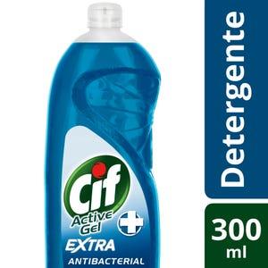 Detergente Cif Concentrado Active Gel Antibacterial 300 ml