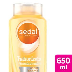 Acondicionador Sedal Crema Balance Secado Rápido 650 ml