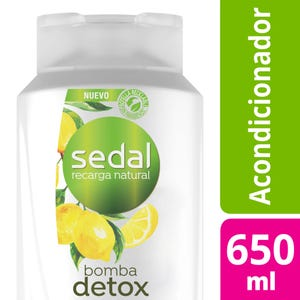 Acondicionador Sedal Pureza Detox 650 ml