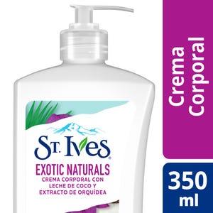 Crema Corporal St. Ives Exotic Naturals 350 ml