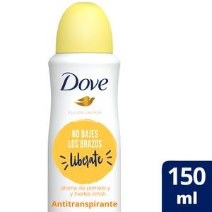 Desodorante Dove Pomelo Limón en aerosol 150 ml