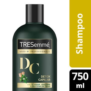Shampoo Tresemme Detox Capilar 750ml