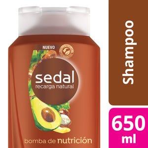 Shampoo Sedal Bomba Nutrición 650 ml
