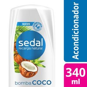 Acondicionador Sedal Bomba Coco 340 ml
