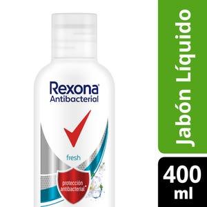Jabon Líquido Rexona Antibacterial Fresh 400 ml
