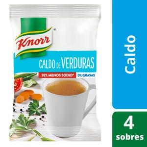 Caldo en Sobres Knorr Reducido en Sodio 4 un