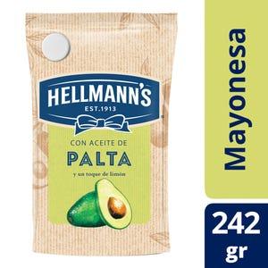 Mayonesa con Aceite de Palta Hellmann's Doypack 242 gr