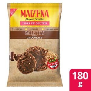 Galletitas Maizena Chocolate con Semillas 180 gr
