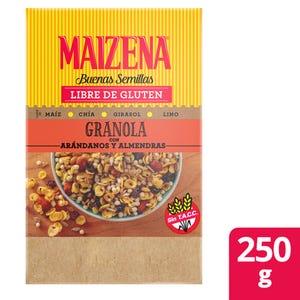Granola Maizena almendras y arándanos 250 gr