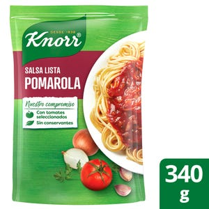 Salsa Lista Knorr Pomarola 340 gr