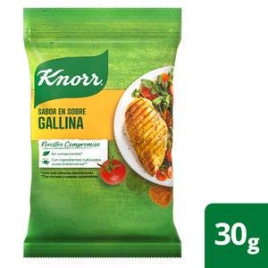 Caldo en Sobres para Saborizar Knorr de Gallina 4 un