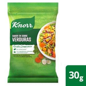 Caldo en Sobres para Saborizar Knorr de Verduras 4 un