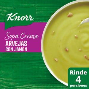 Sopa Crema Knorr Arvejas con Jamón 64 gr
