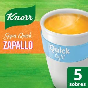 Sopa Knorr Quick Zapallo Light 5 Sobres