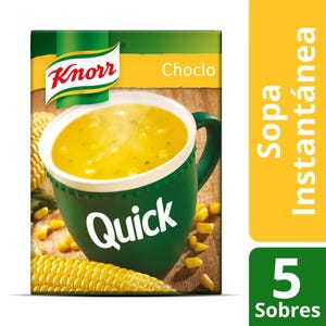 Sopa Knorr Quick Choclo 5 Sobres