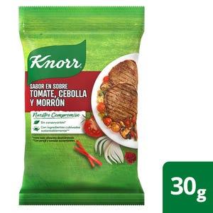 Saborizador en Sobres Knorr Tomate, Cebolla y Morrón 4 un