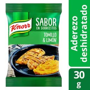 Saborizador en Sobres Knorr Tomillo y limón 4 un