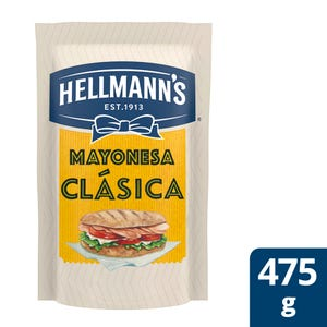Mayonesa Clásica Hellmann's Doypack 475 gr