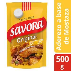 Mostaza Original Savora Doypack 500 gr