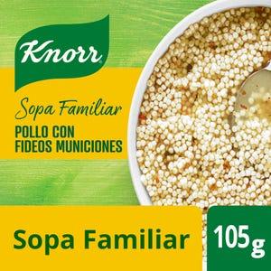 Sopa Knorr Pollo con Fideos Munición 105 gr
