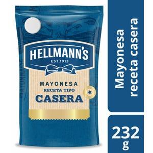 Mayonesa tipo casera Hellmann's Doypack 232 gr