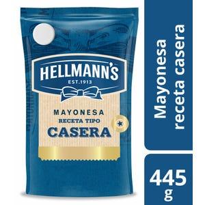 Mayonesa tipo casera Hellmann's Doypack 445 gr