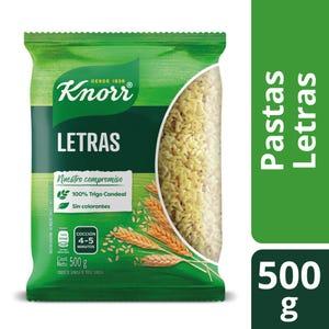 Fideos Knorr Letra 500 gr