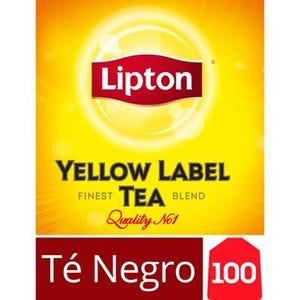 Té Negro Lipton Yellow Label 100 un