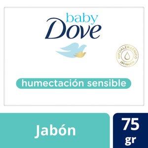 Jabón en Barra Baby Dove Humectación Sensible Individual 75 gr