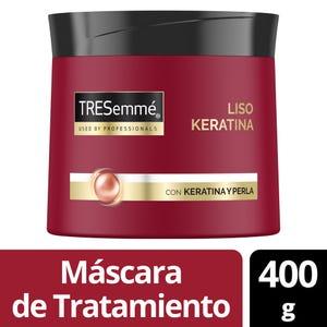 Máscara de Tratamiento Tresemmé Liso Keratina 400 ml