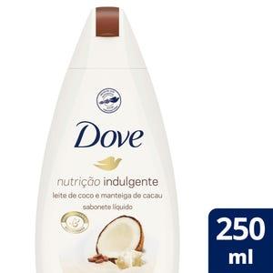 Jabón Líquido Dove Leche de Coco 250 ml