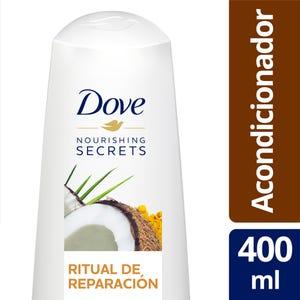 Acondicionador Dove Ritual de Reparación Coco y Cúrcuma 400 ml
