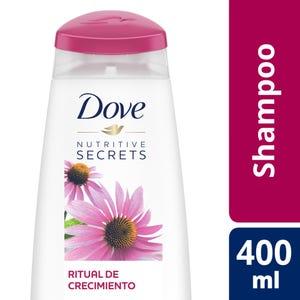 Shampoo Dove Ritual de Crecimiento 400 ml