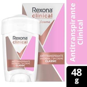 Desodorante Antitranspirante Rexona en crema 48 gr