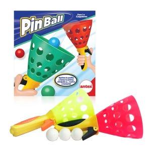 Juego Pinball Lanza y Atrapa pelotas Antex