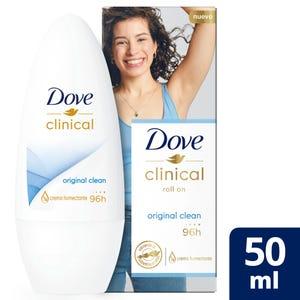 Antitranspirante Dove Clinical en Bolilla 50 ml