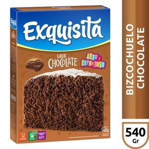 Premezcla para bizcochuelo de Chocolate Exquisita 540 gr
