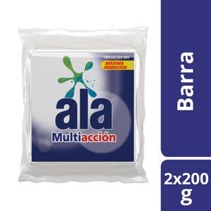 Jabón en Pan Ala Multiacción Multipack 2x200 gr