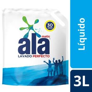 Jabón Líquido Ala Lavado Perfecto doypack 3 lt