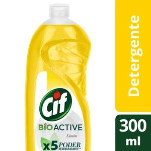 Detergente Cif Concentrado Active Gel Limón 300 ml